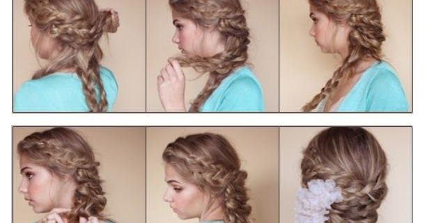 Hairstyle Tutorial Bohemian Braided Updo
