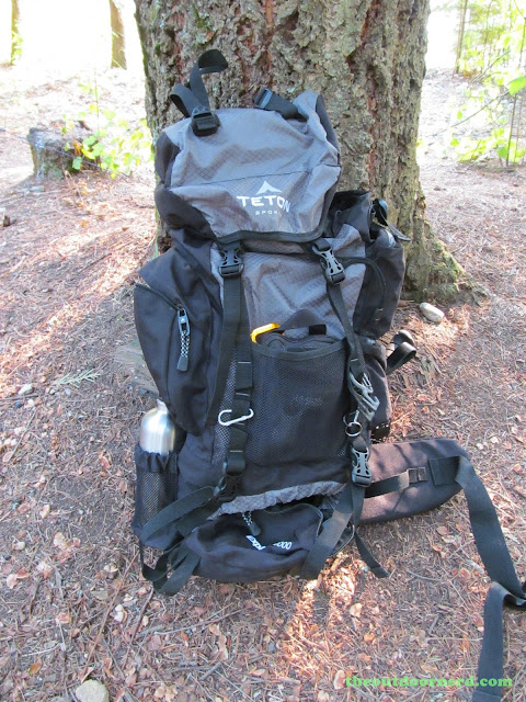 Outlet Campgrounds At Priest Lake, Idaho: Teton Explorer 4000 Backpack Ready For Business
