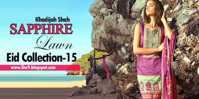 Sapphire Designer Eid Law Collection 2015