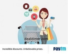 PayTm Shopping Rs. 250 Cashback on Purchase of Rs. 300