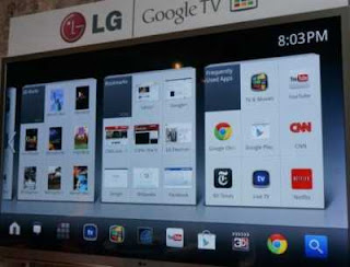 LG Google Tv Demo (video)