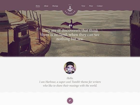 Harbour PSD Website Templates