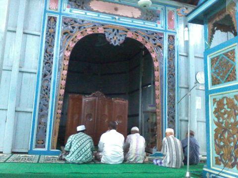 Jamaah Masjid Su'ada atau Masjid Baangkat di Wasah Hilir