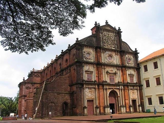 Basalica of Bom Jesus, Goa