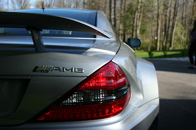 Mercedes SL 65 AMG Black Series Tail Light