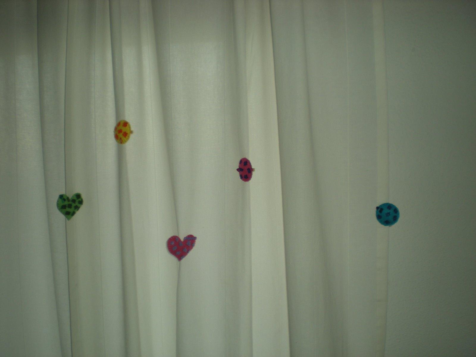 inma kiara adornos para las cortinas
