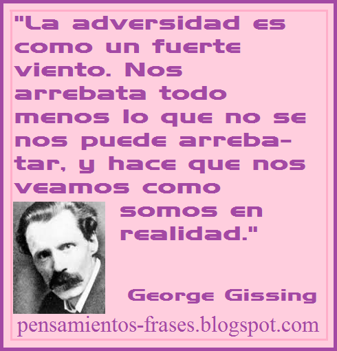 frases de George Gissing