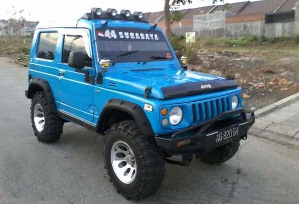 Dijual Siap Offroad, Jimny Katana 4WD ~ Mobil Bekas ...