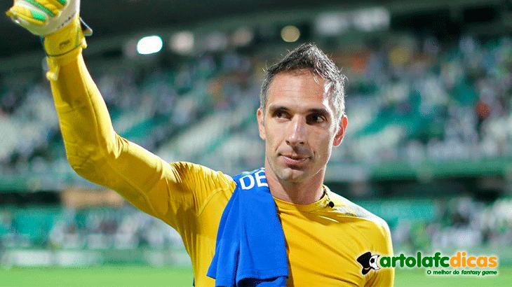 Fernando prass é o melhor goleiro para a primeira rodada do cartola fc