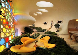 lounge unique home house with snail design
