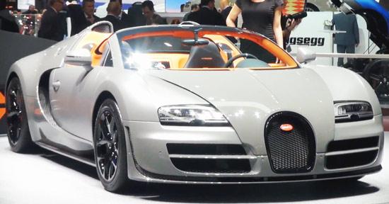 Bugatti Veyron Vitesse Salao Genebra 2012