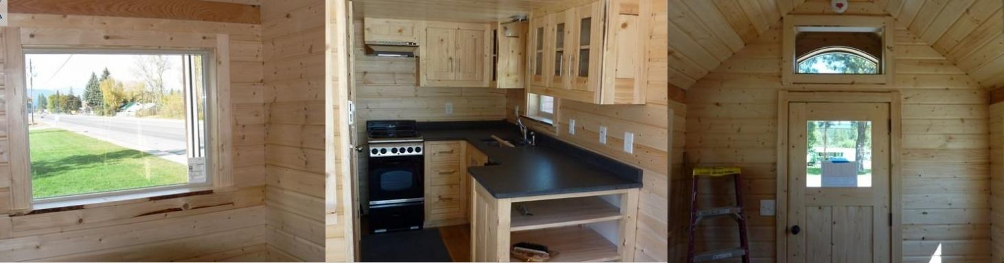 Una mini casa para llevar a donde quieras casas ideas for Mini casas decoracion