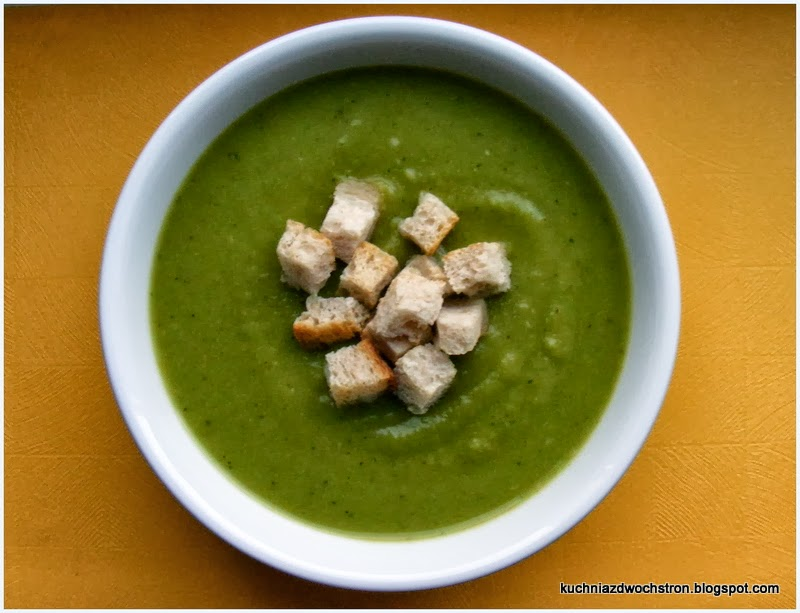 Zupa Brokulowa Krem