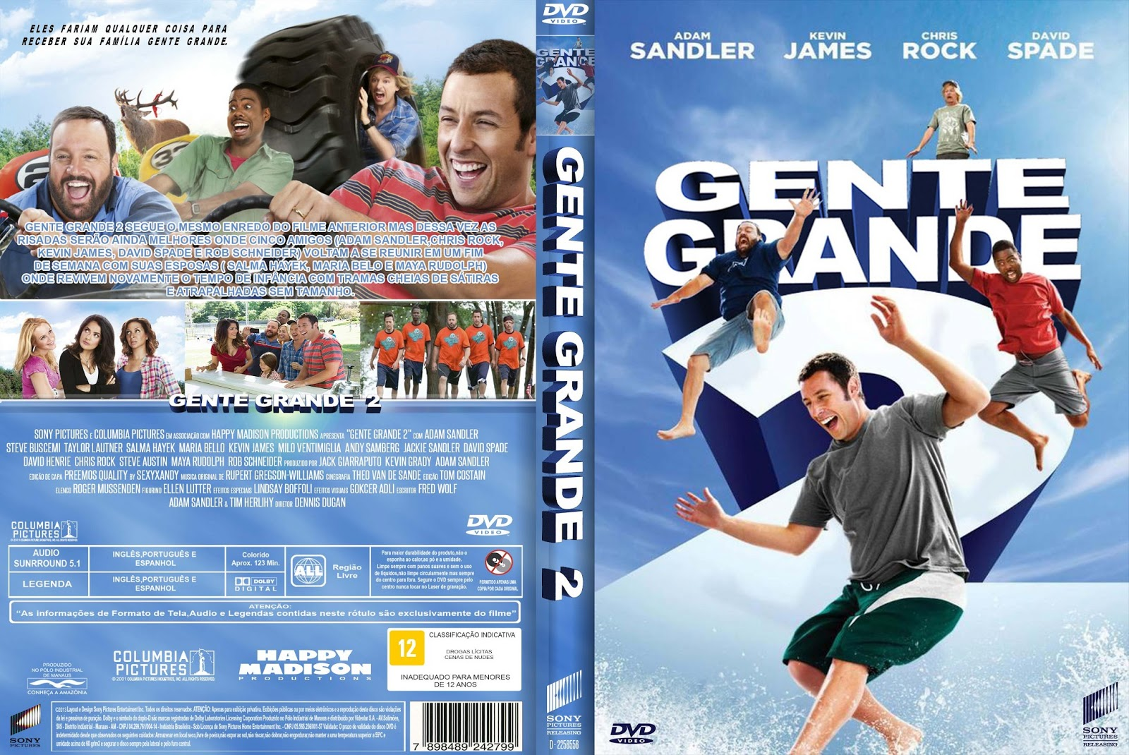 Filme Gente Grande 2