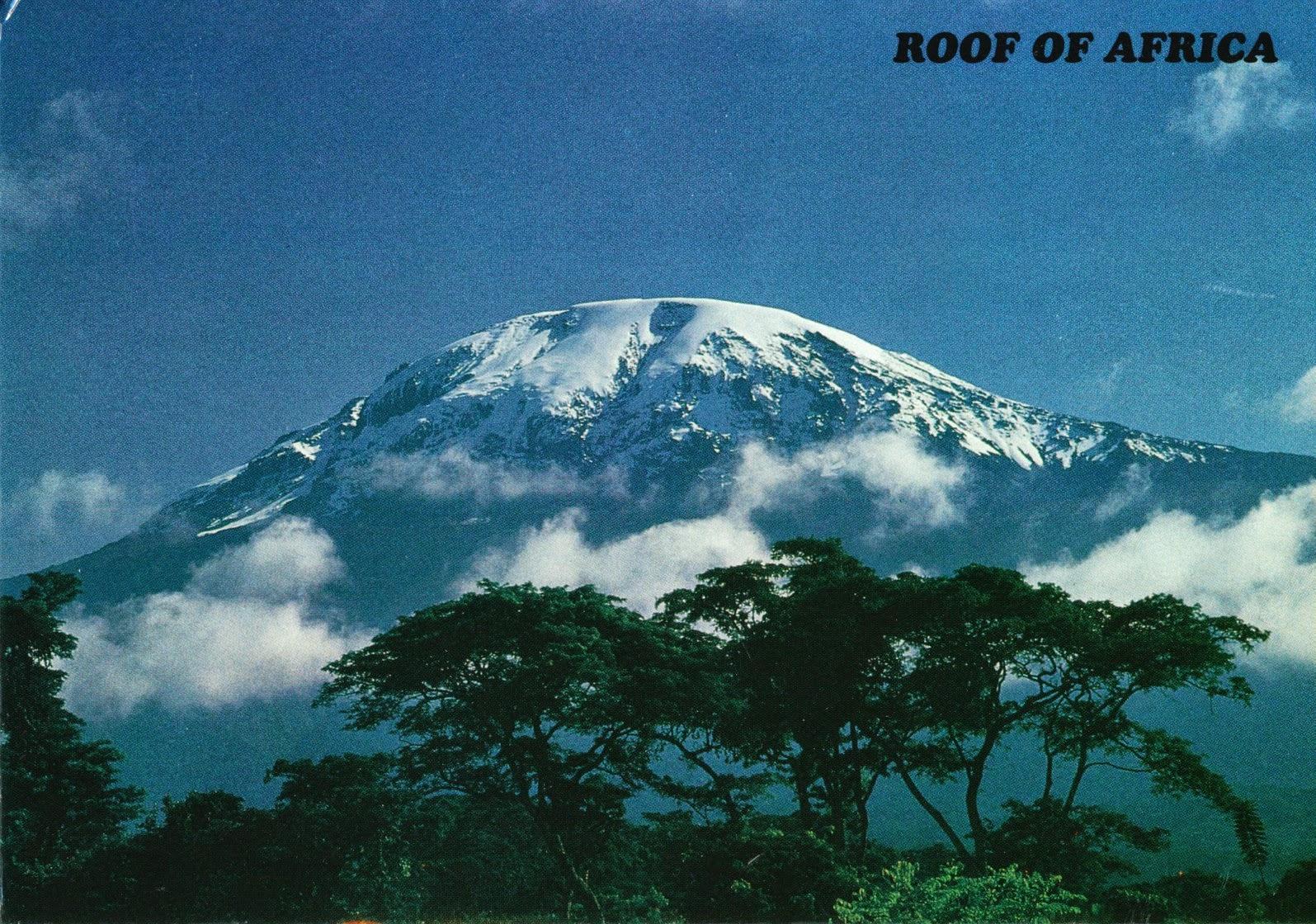 postcard, tanzania, moshi