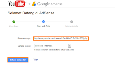 Daftar akun adsense1