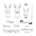 CTMH's February Stamp of the Month - Easter Bunny (S1702)