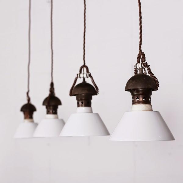陶器ライト