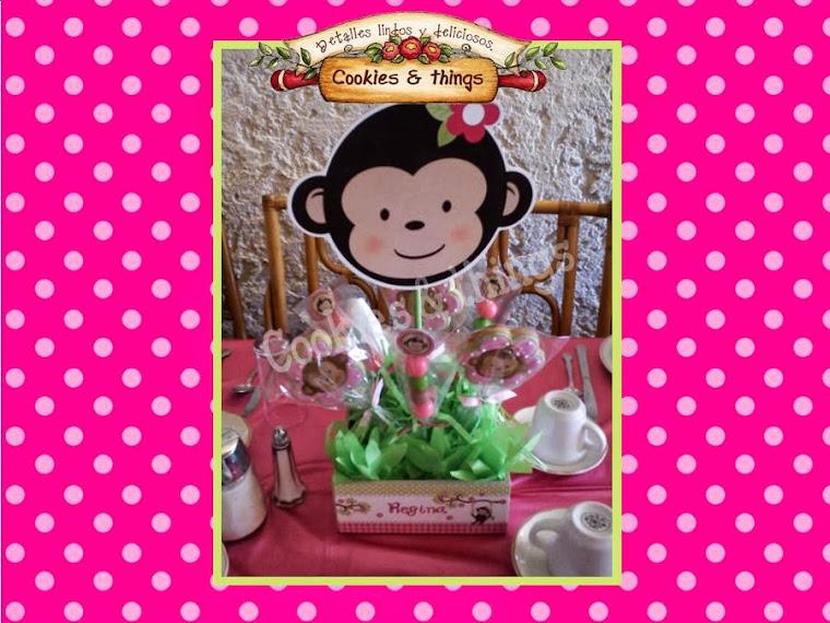 Baby monkey girl