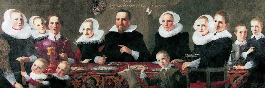 Het gezin van schepen Joost van Vaneveld
