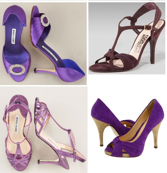 Latest Purple Wedding Shoes Latest Purple wedding shoes