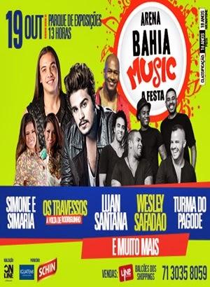 arena bahia music