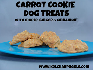 Tasty Tuesday: Carrot Cookie Dog Treats
