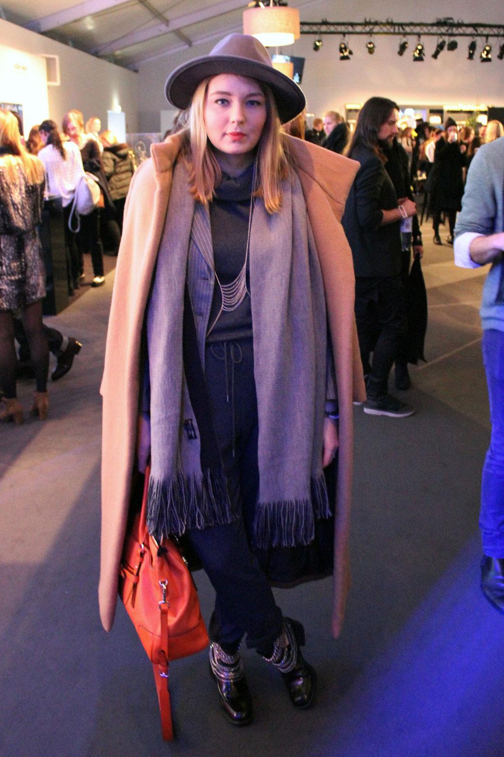 fashionfreax, streetstyle, fashion week berlin, januar 2014, hw 2015, camel coat, grey, jumpsuit