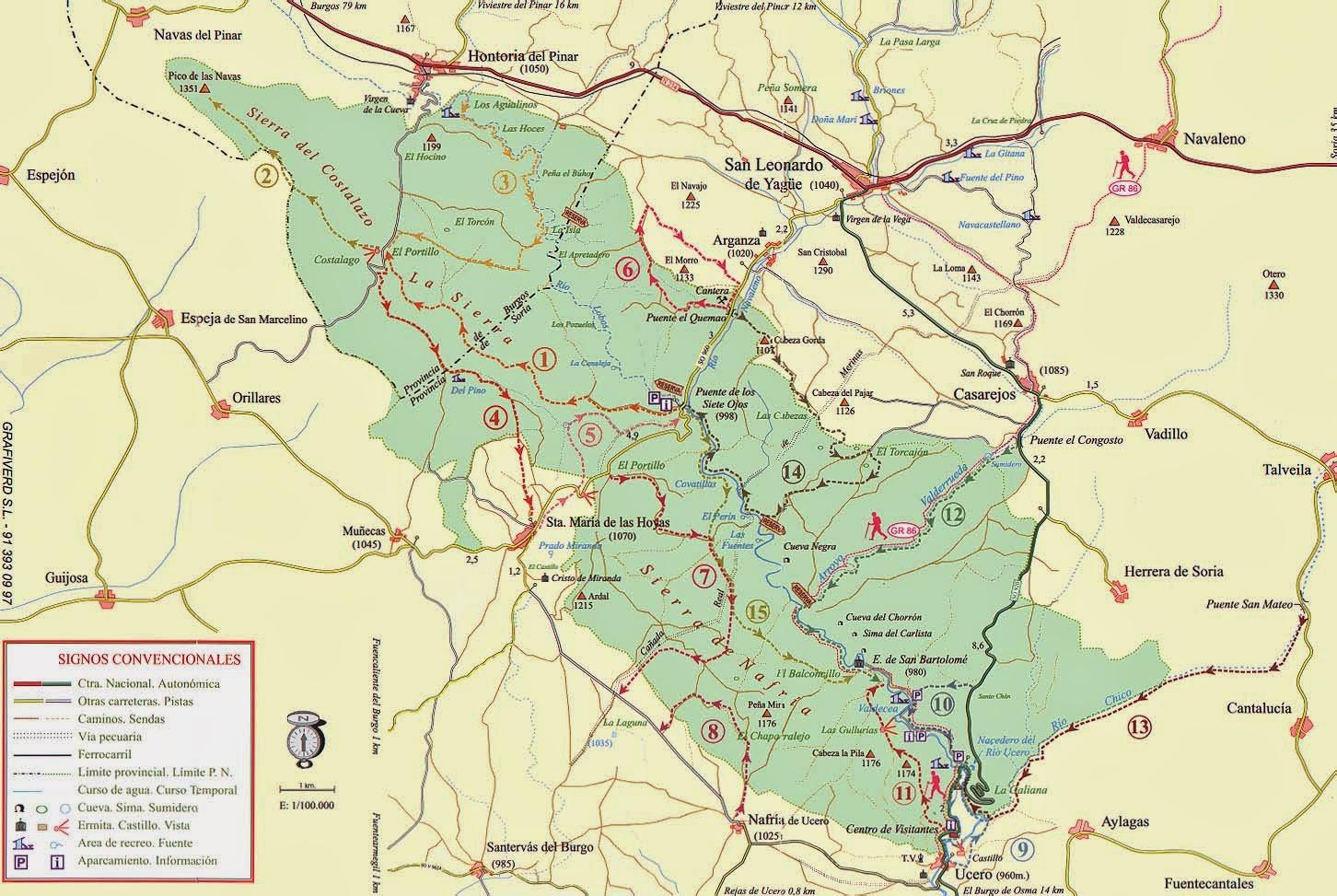 Unas rutas con Sendas de Madrid ---: Una travesía por el Cañón del ...