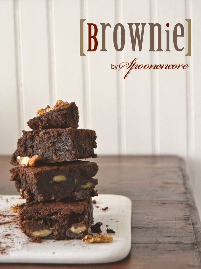 brownie sans gluten spoon encore