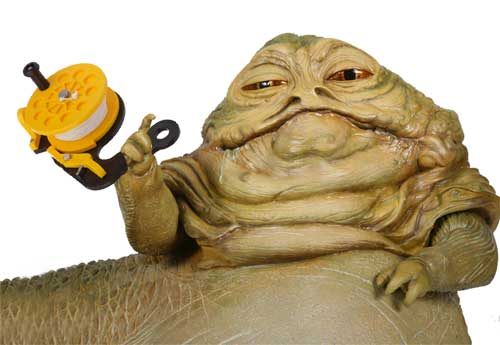 STAR WARS – SCUBA WARS ~ I Are Diver Jabba The Hutt Choked