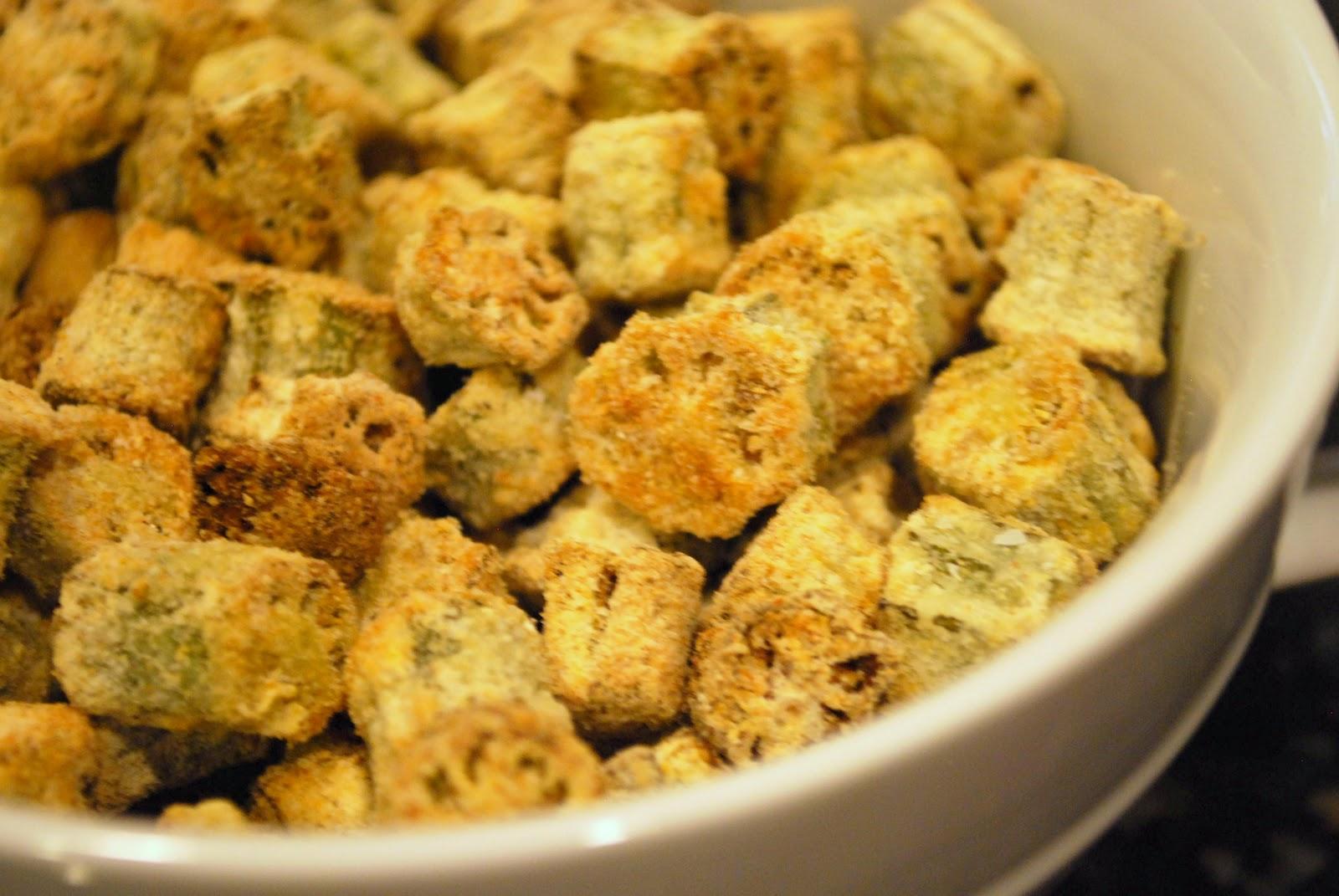 Fried Okra Recipes — Dishmaps