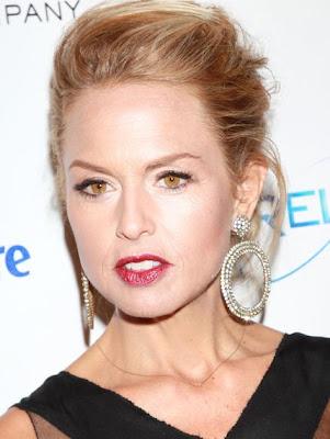 Rachel Zoe Diamond Hoop Earrings
