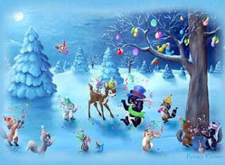 kartu ucapan natal lucu
