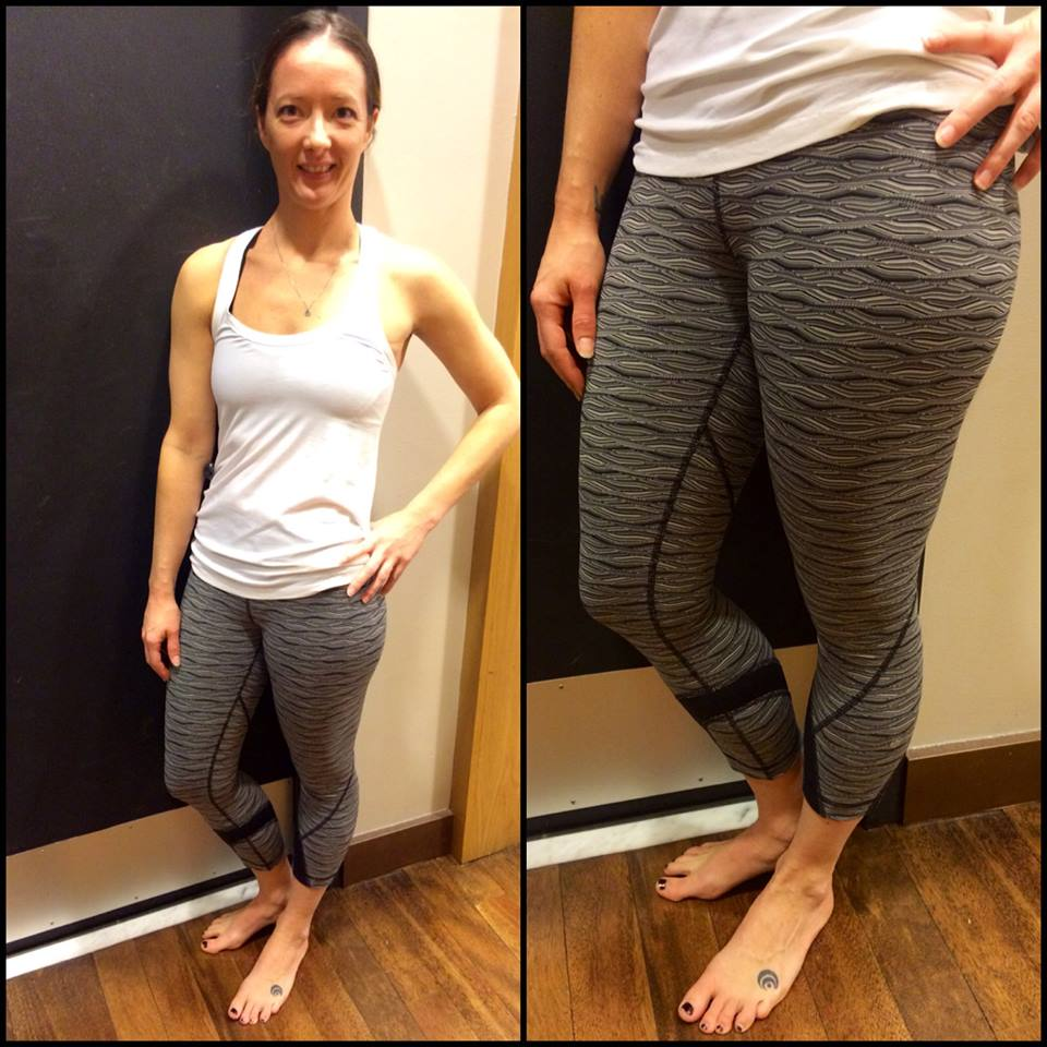 lululemon inspire crop wave