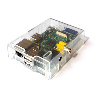 Raspberry Pi clear case