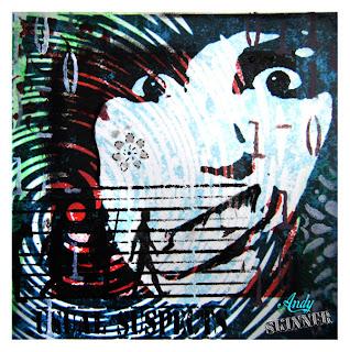 Andy Skinner Gelli Plate Print