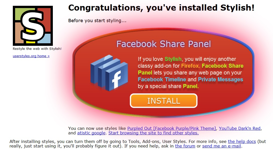how to change facebook app layout