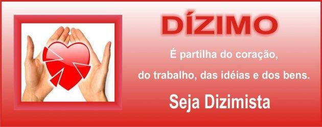 PARTICIPE  NA SUA COMUNIDADE  DOANDO O DÍZIMO UMA OBRIGAÇÃO DE TODOS NÓS