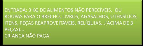 BEM VINDO AO CLUBE DA TROCA SOLIDÁRIA
