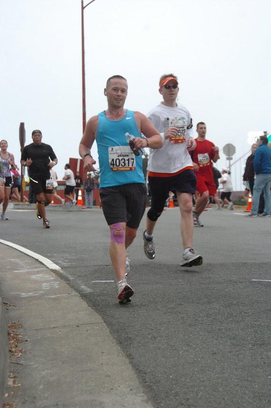 downhill San Francisco Marathon 2012