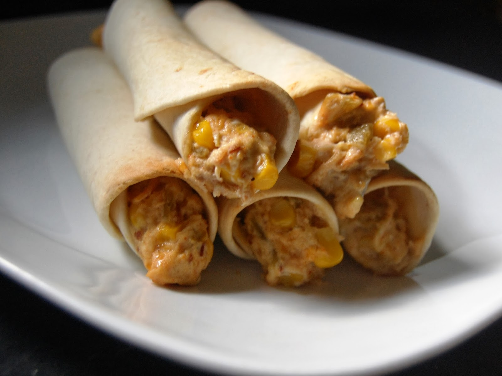 Cassie Craves: Baked Chicken Bacon Ranch Taquitos
