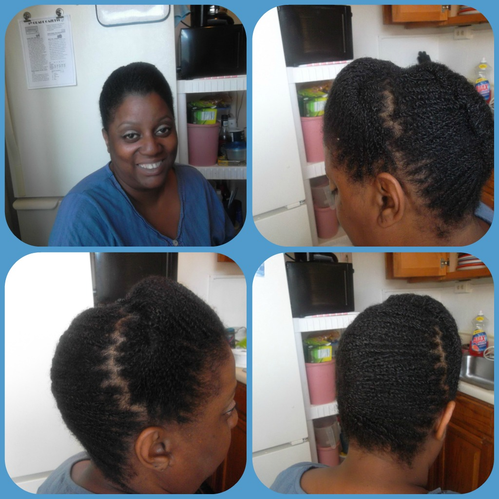 My Natural Hair Journey Looking Professional For Job Search Or