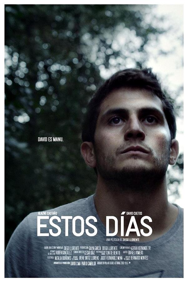 Estos días, de Diego Llorente póster