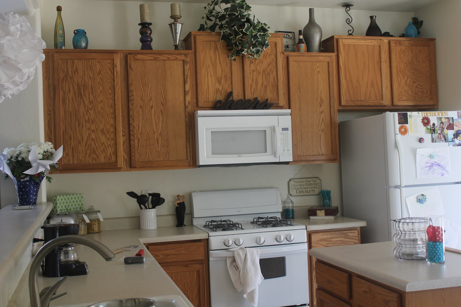 Kitchen Cabinet Makeover : Kitchen cabinet makeover for $170