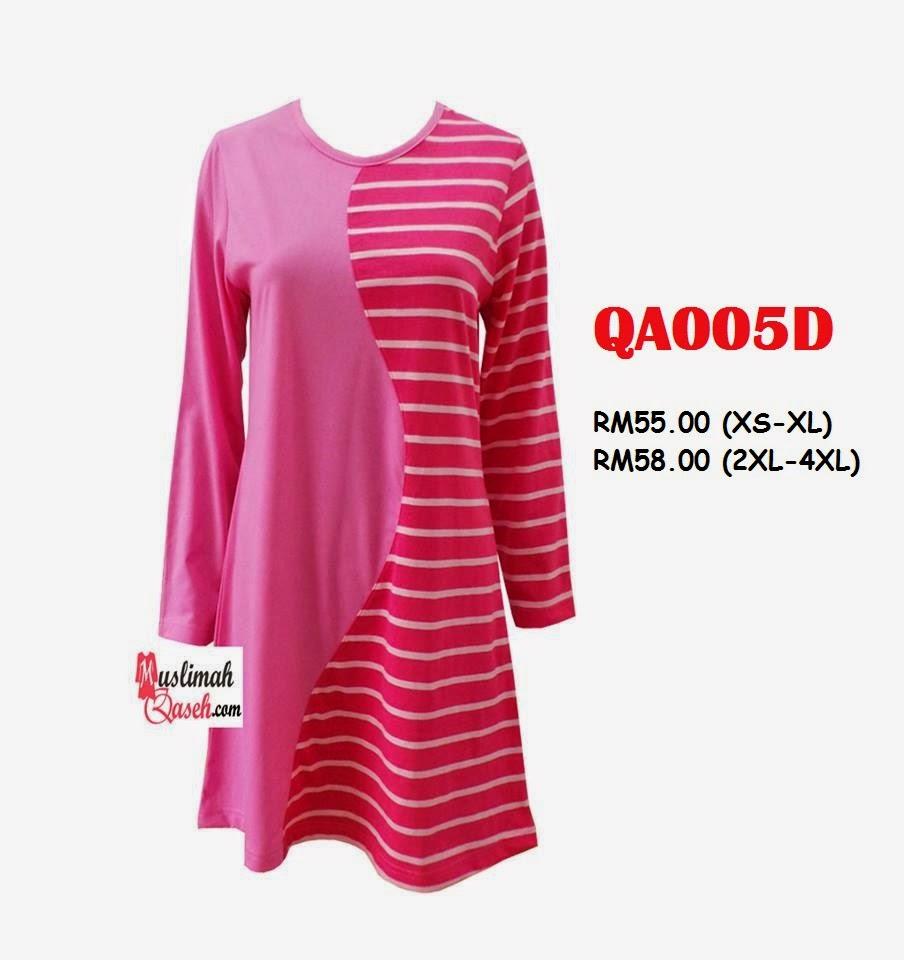 T-Shirt-Muslimah-Qaseh-QA005D