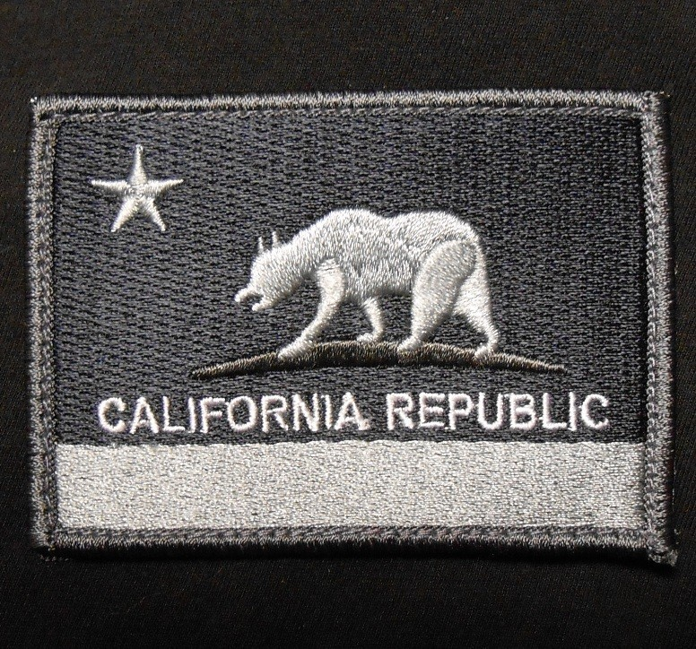 Five Variations On The California Bear Flag Embroidered Patch Bear Flag Museum