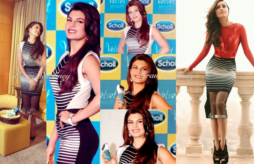 Jacqueline Fernandez at Scholl event in Amit Aggarwal