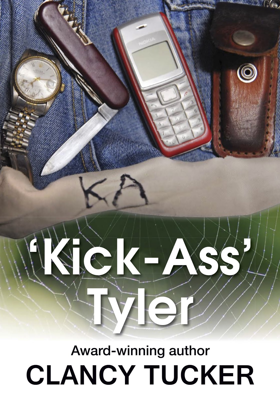 BUY 'KICK-ASS' TYLER PAPERBACK FROM OUTSIDE AUSTRALIA