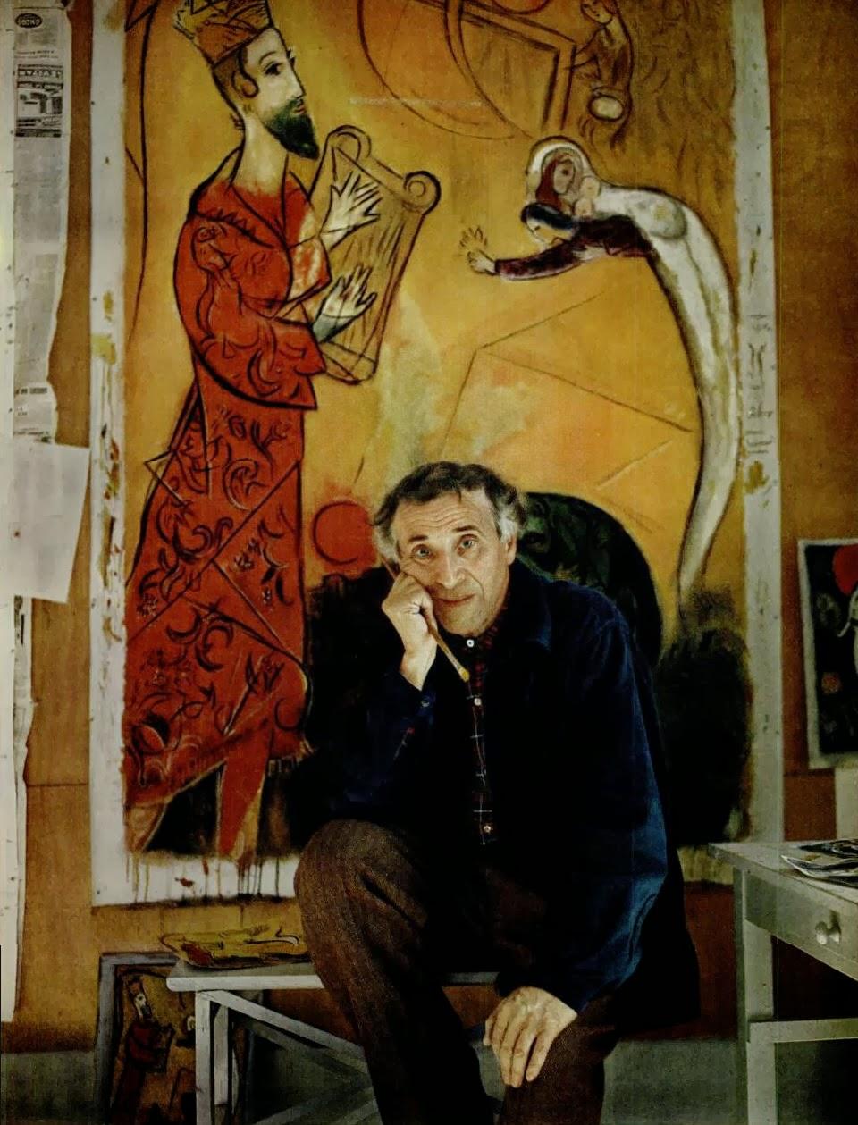 Artists on Pinterest   Samuel Beckett, David Lynch and ... Chagall